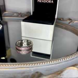 🖤HOST PICK🖤 Pandora Infinity Ring Pink Band